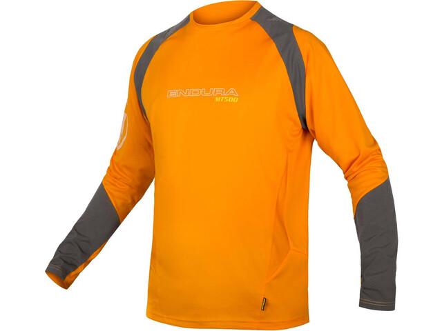 Endura MT500 Burner Long Sleeve Jersey Men mango